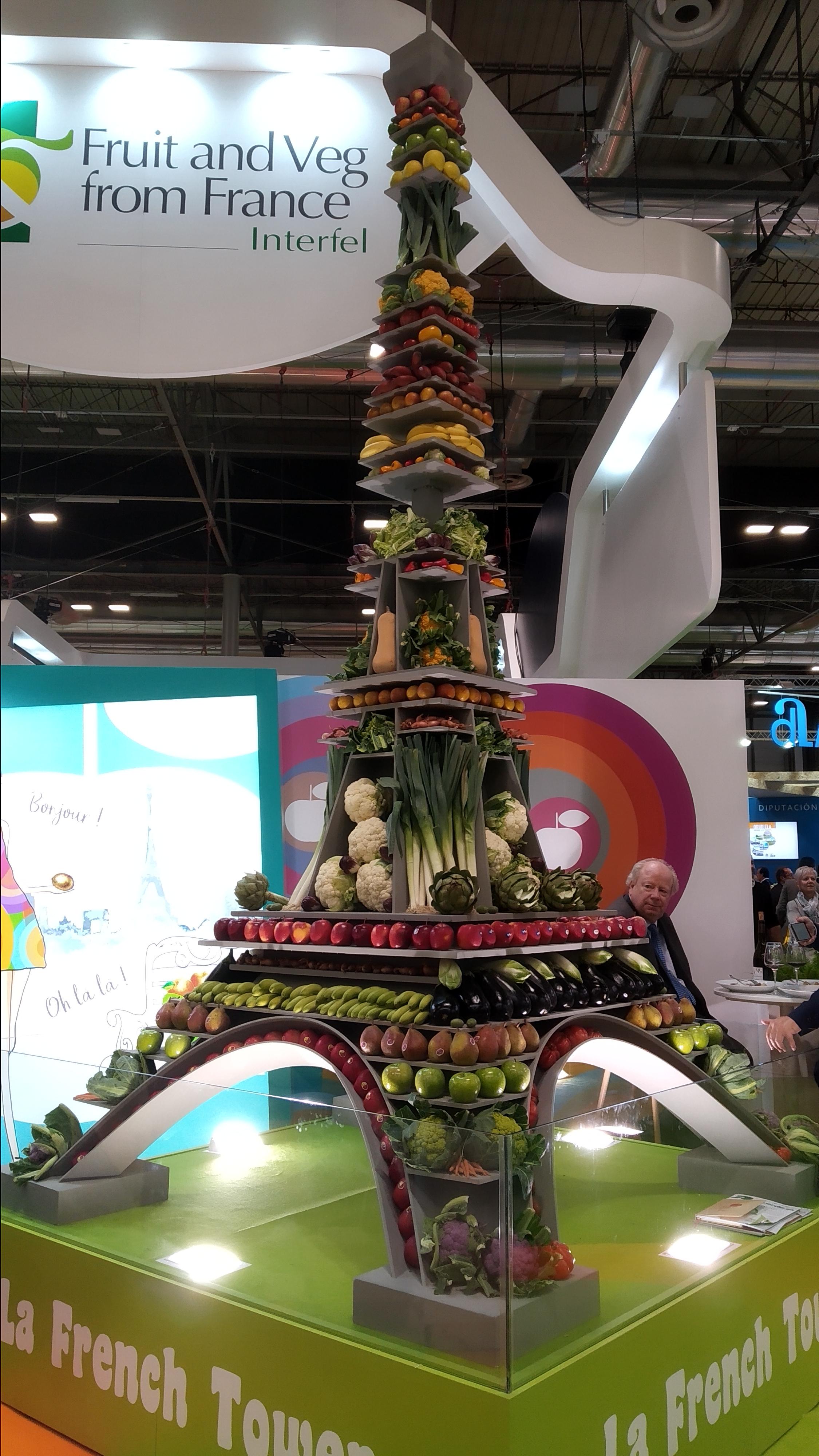 frutas torre